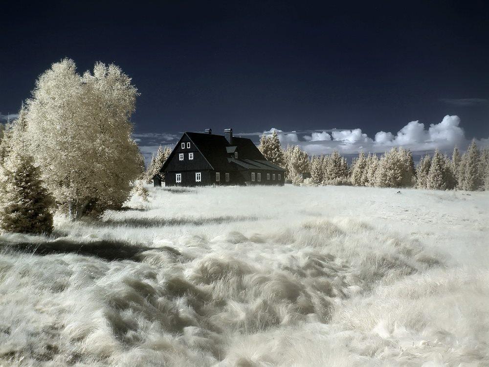 Wieś Jizerka, Góry Izerskie po stronie czeskiej - Foto: Kamil Pluta