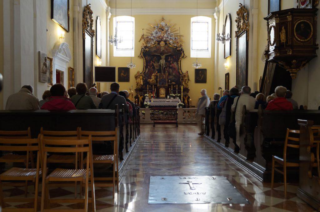 Msze w kościele św. Józefa na Kahlenbergu są prowadzone również w języku polskim