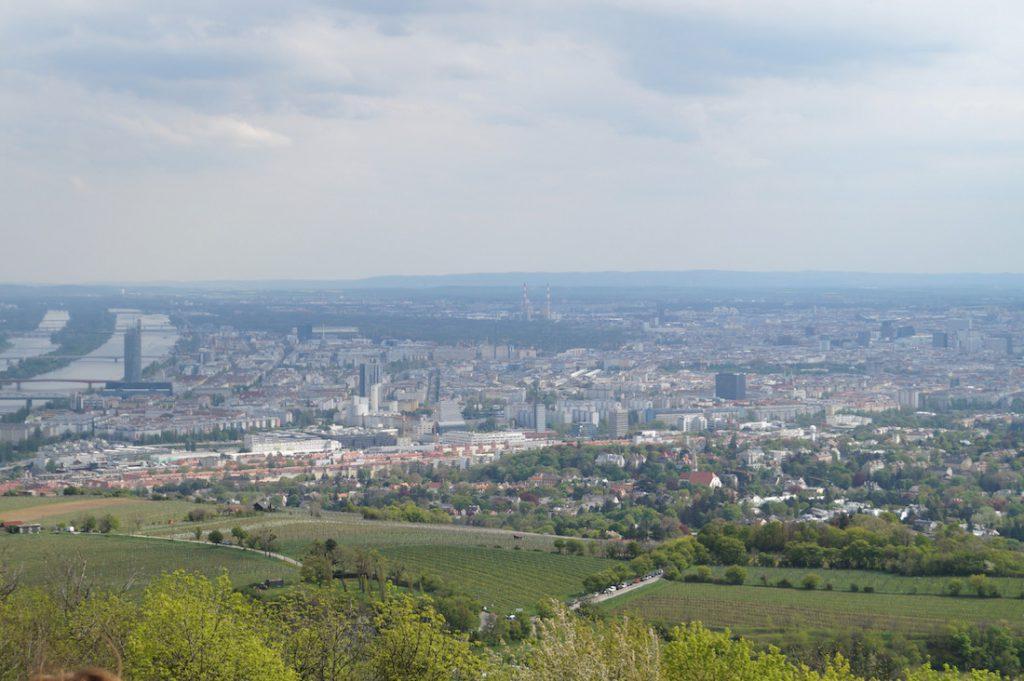 Wiedeń ze wzgórza Kahlenberg - Śladami Odsieczy Wiedeńskiej