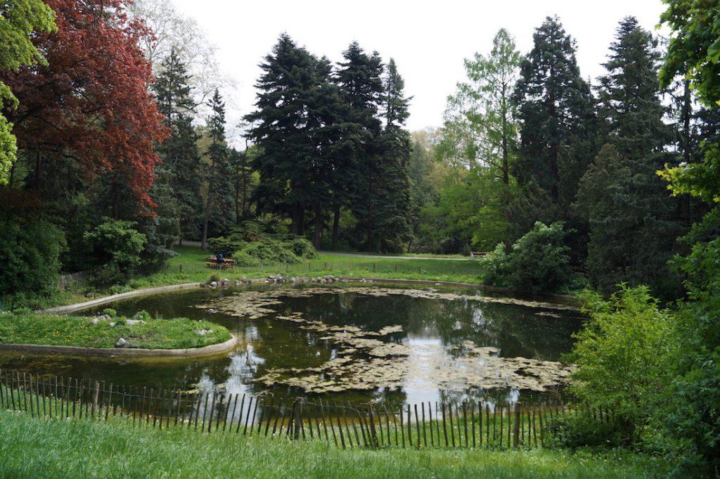 Türkenschanzpark w Wiedniu - W 1683 roku w miejscu dzisiejszego parku znajdowały się tureckie umocnienia