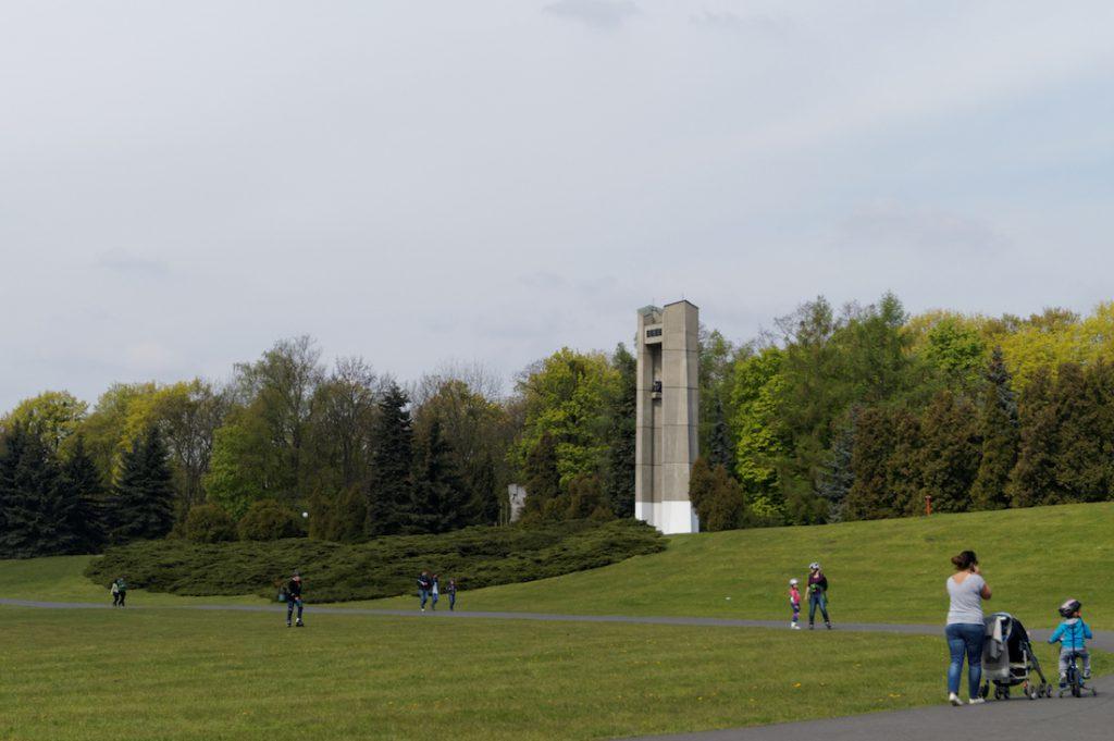 Park Cytadela zlokalizowany na miejscu dawnego Fortu Winiary