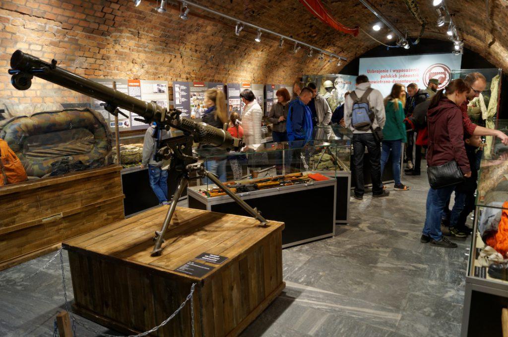 Ekspozycje Muzeum Uzbrojenia