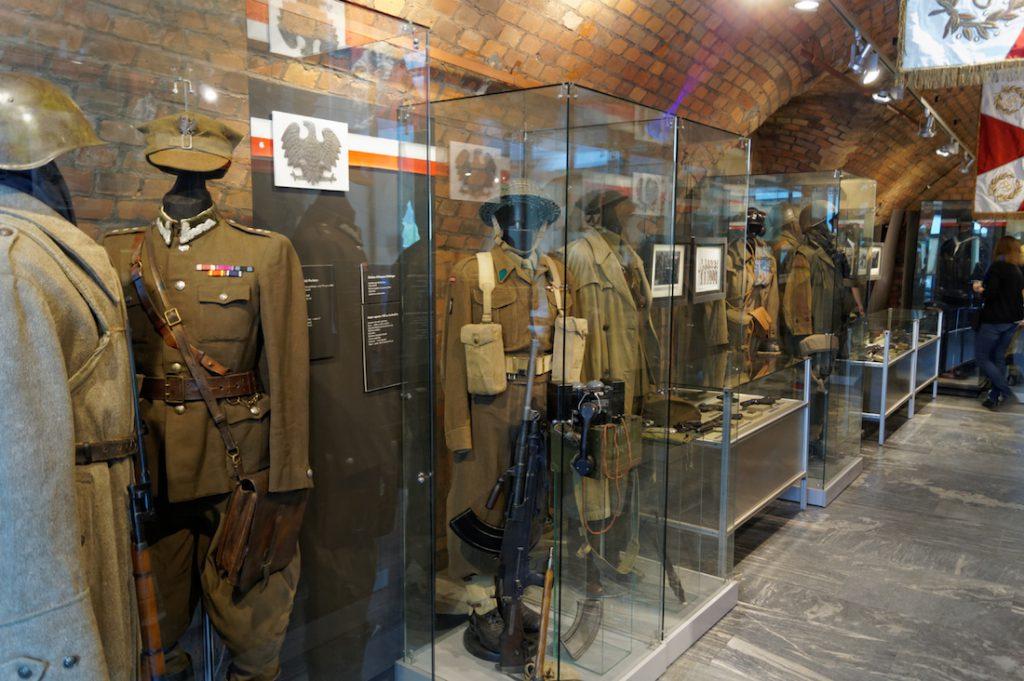 Ekspozycje Muzeum Uzbrojenia w Poznaniu
