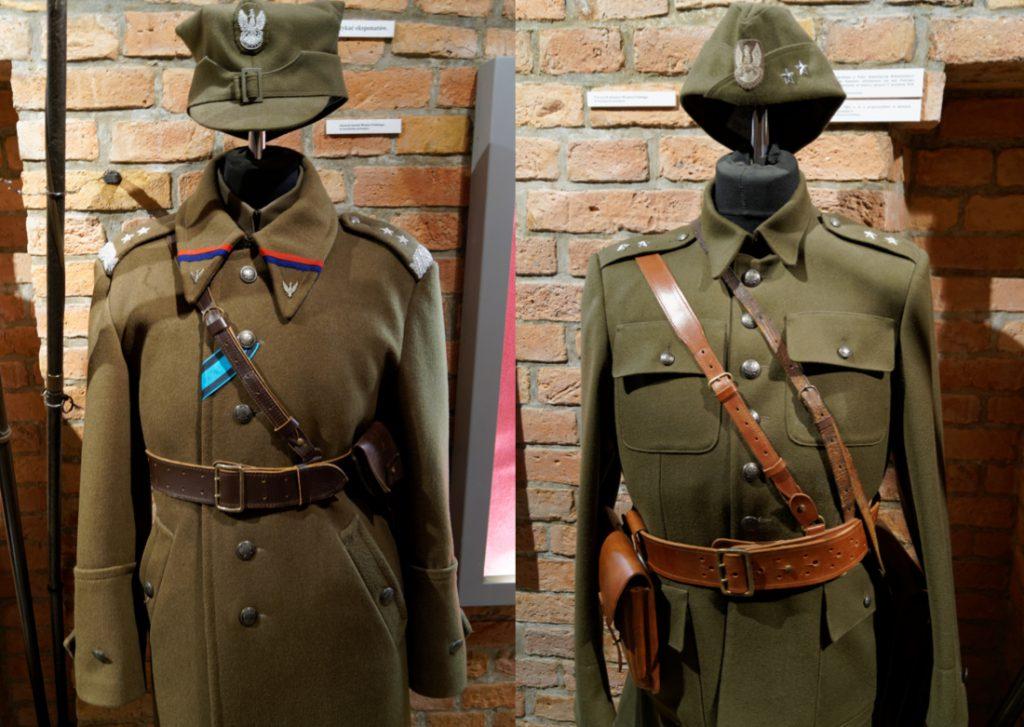 Wystawa mundurów Wojska Polskiego z września'39 - Muzeum Armii Poznań