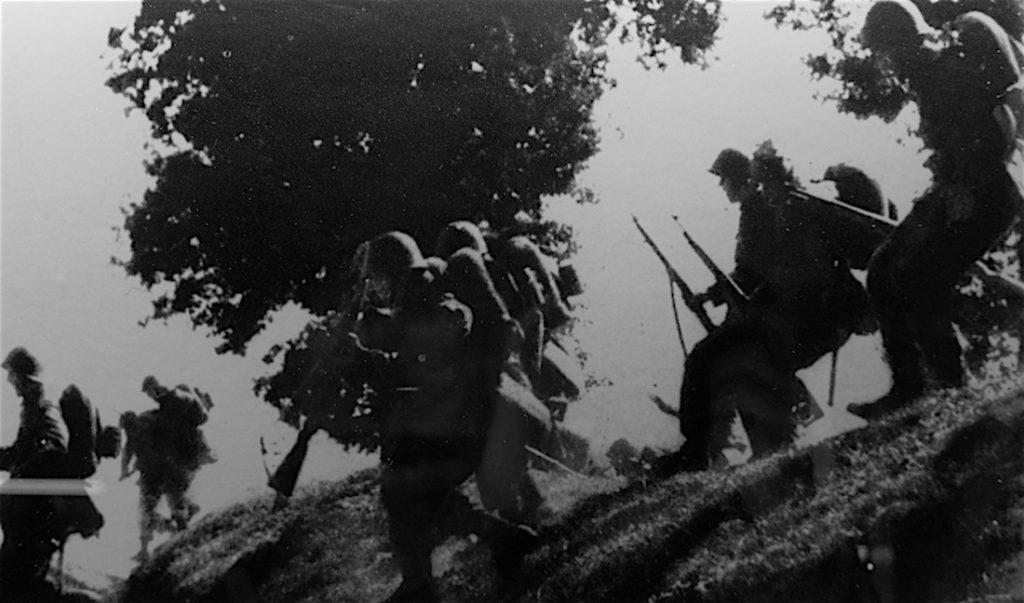 Żołnierze Wojska Polskiego podczas Bitwy po Bzurą