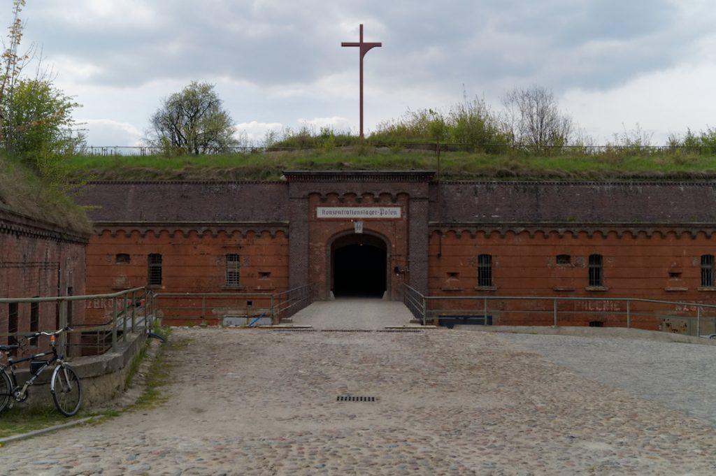 Wejście do Fortu VII Colomb