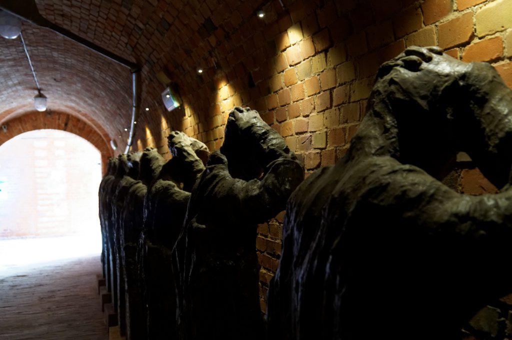 Pomnik więźniów - Muzeum Martyrologii Wielkopolan