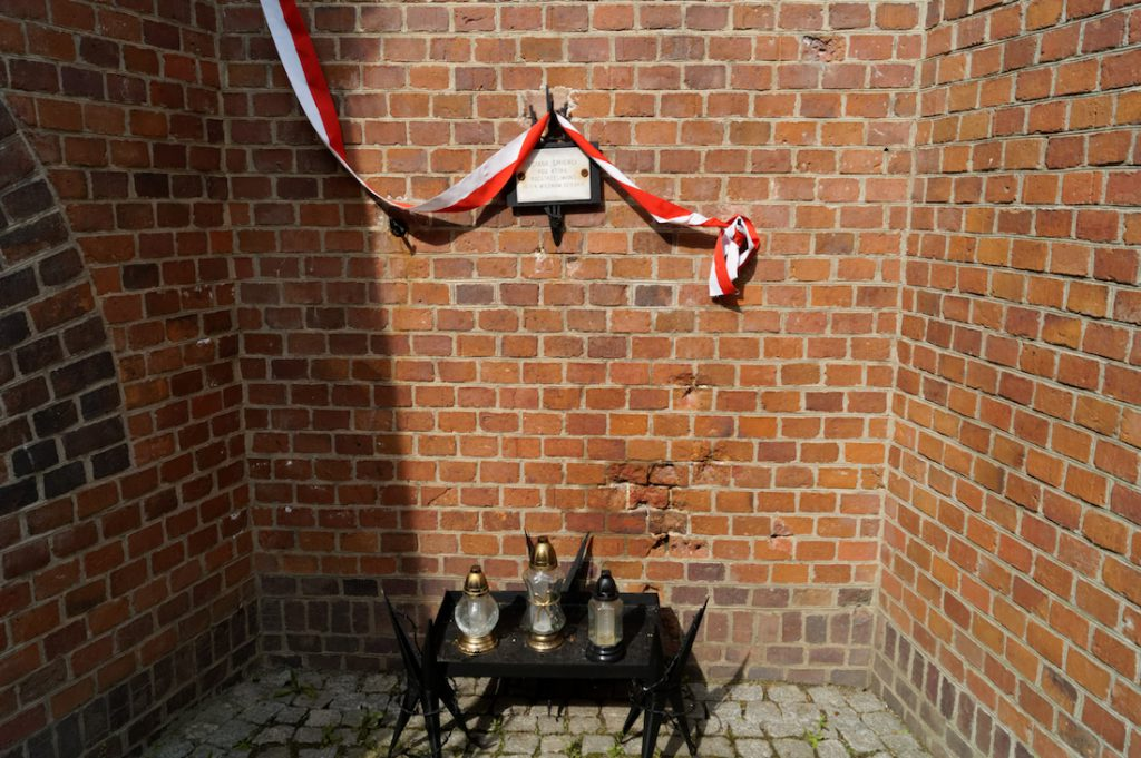 Ściana egzekucji - Fort VII