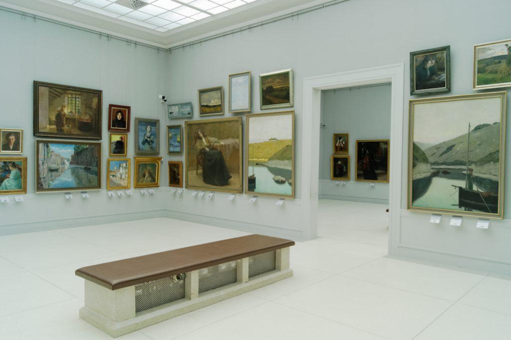 Rogalińska galeria obrazów - Pałac w Rogalinie