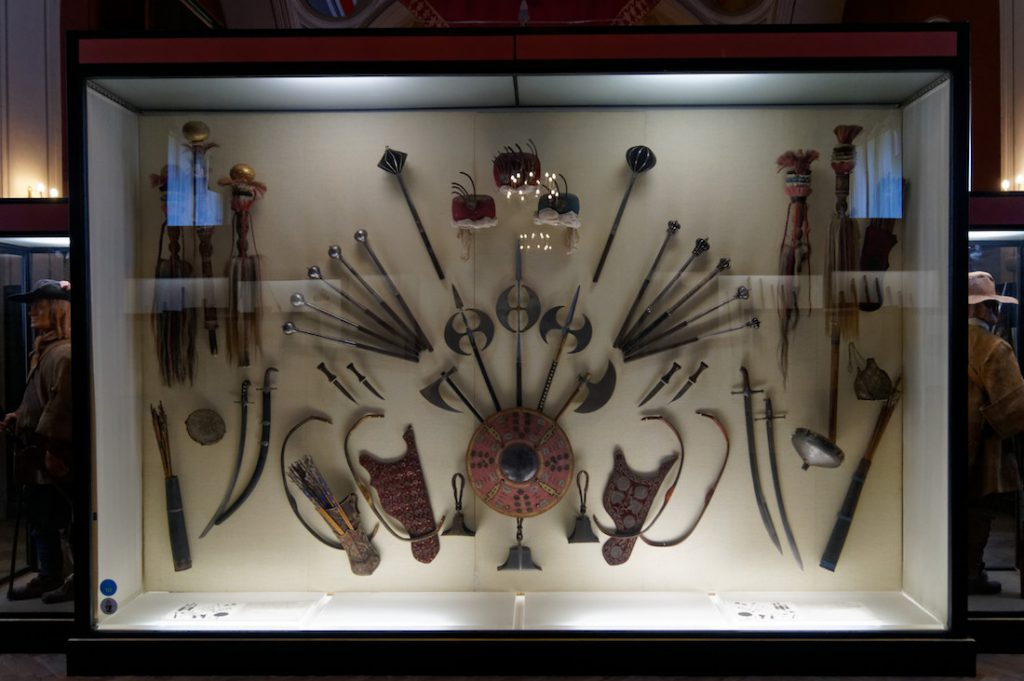 Ekspozycja wyposażenia wojsk Imperium Osmańskiego