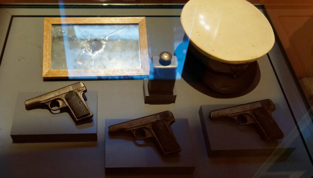 Pistolet marki Browning M1910 należący do zamachowca Gavrilo Principa
