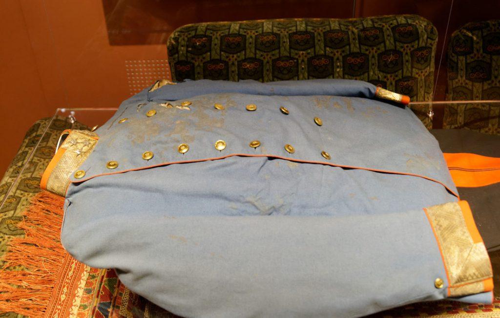 Podziurawiony mundur arcyksięcia Franciszka Ferdynanda