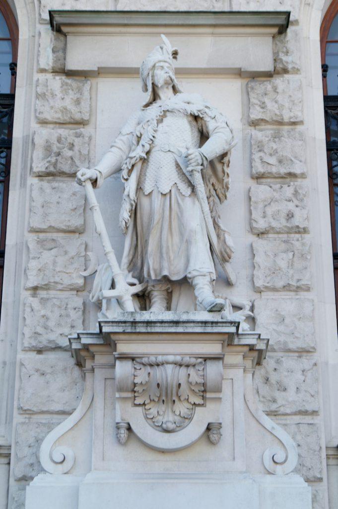 Polski żołnierz z Odsieczy Wiedeńskiej z 1683 roku - Neue Hofburg