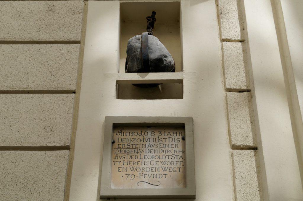 Kula armatnia na Sterngasse - Ślady Oblężenia Wiednia
