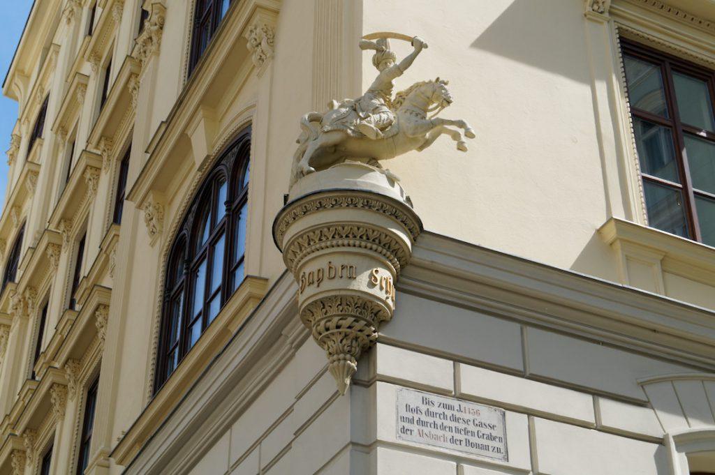 Figura osmańskiego najeźdźcy - Zwiedzanie Wiednia