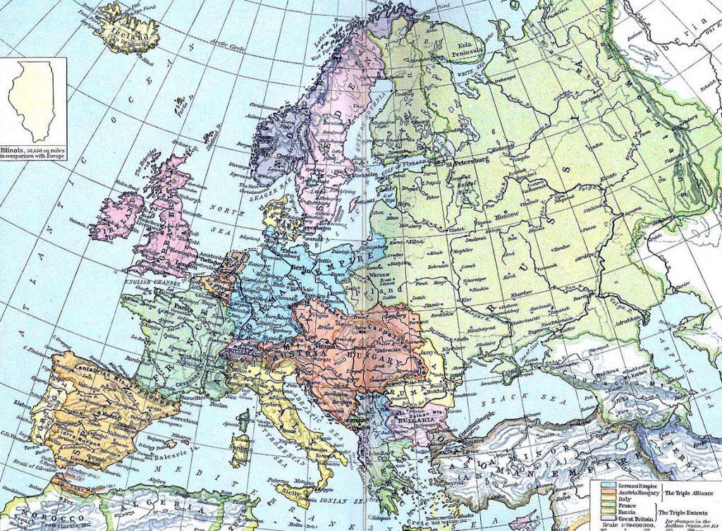 Europa w roku 1914