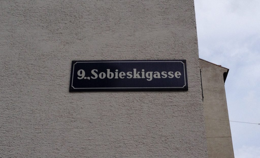 Sobieskigasse - Śladami Odsieczy Wiedeńskiej