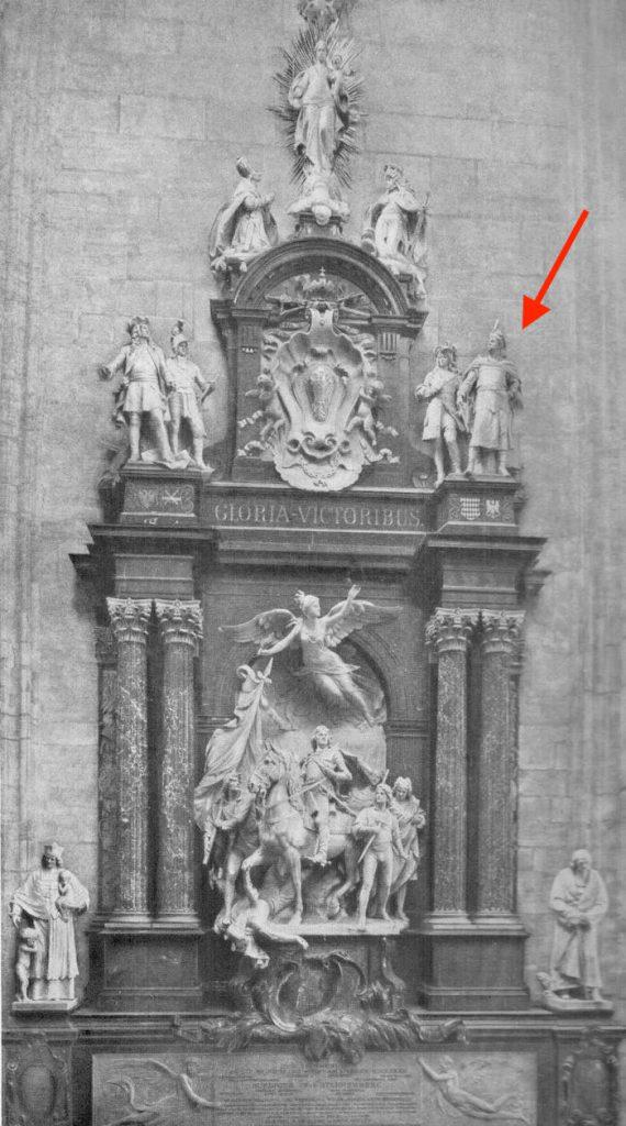 Türkendenkmal - Dawny pomnik w katedrze św. Szczepana w Wiedniu