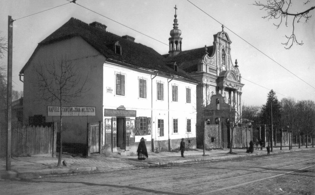 Ulica Janowska i Kościół Reformatów we Lwowie