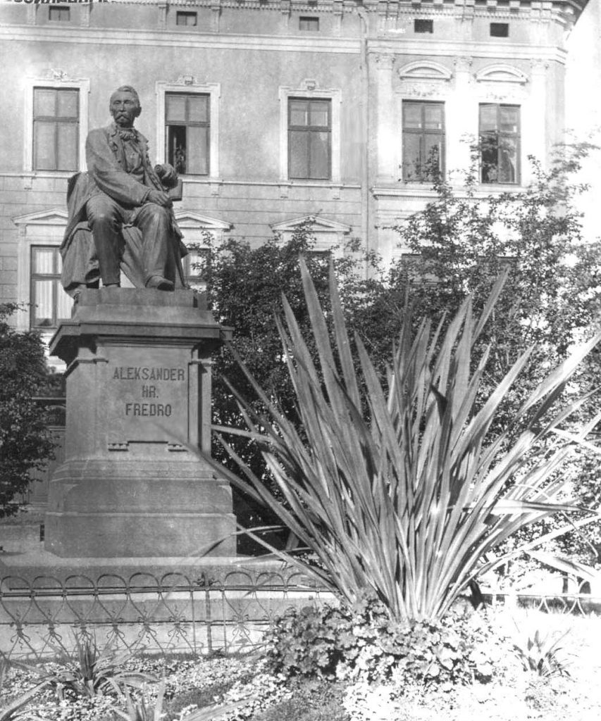 Pomnik Hrabiego Aleksandra Fredry we Lwowie