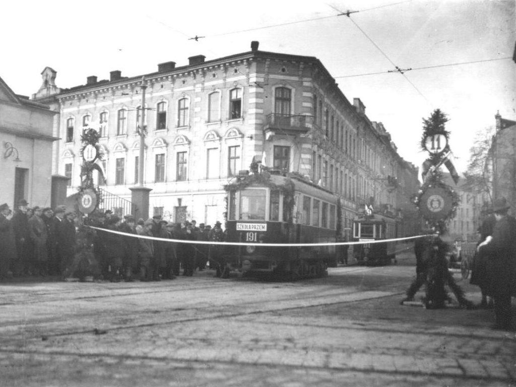 Tramwaj Lilpop/Sanok dostarczony do Lwowa w 1929 roku