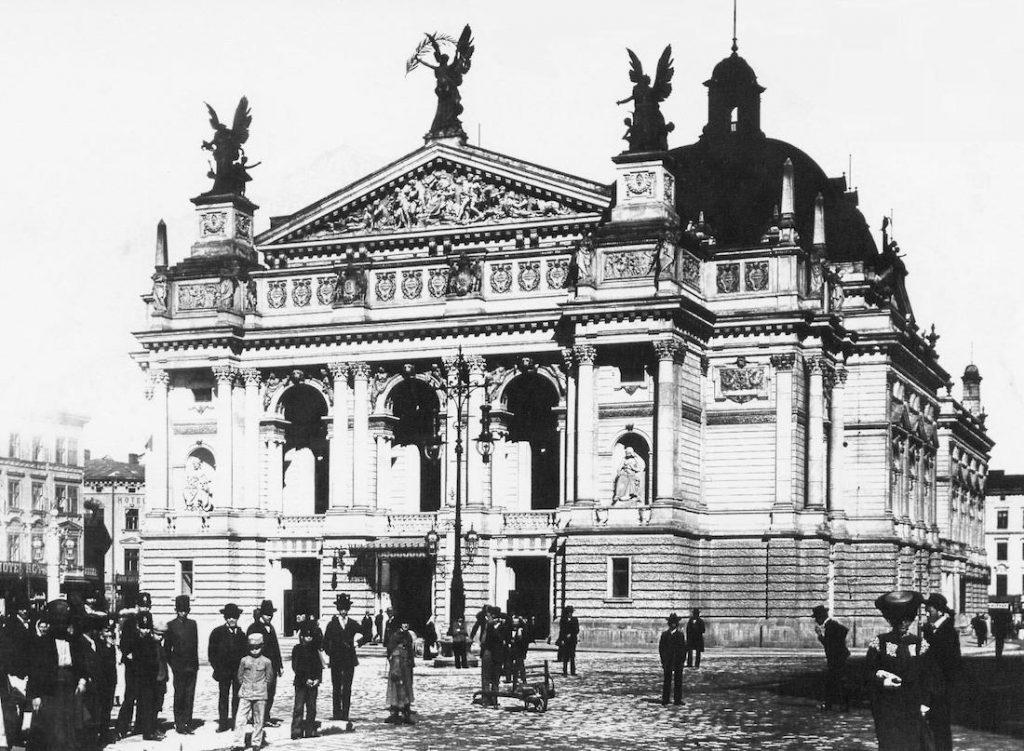 Legionów, Wały Hetmańskie, Opera Lwowska - Archiwalne zdjęcia z Lwowa