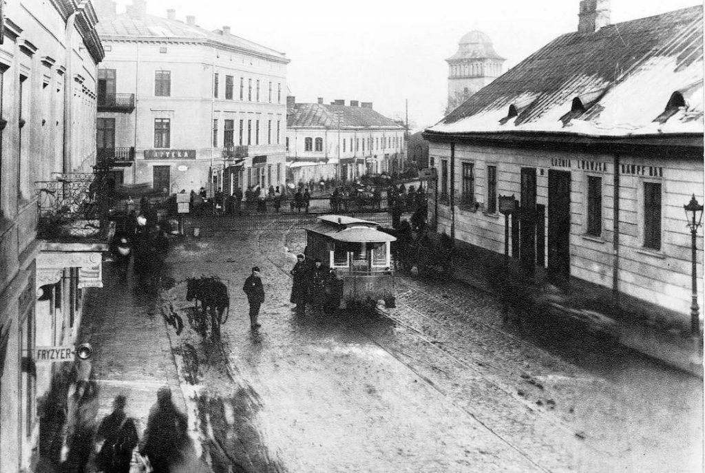 Tramwaje we Lwowie - ulica Żółkiewska i Tatarska