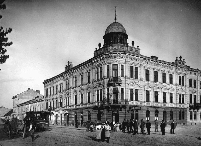 Plac Bilczewskiego, skrzyżowanie z ulicą Gródecką - Archiwalne zdjęcia z Lwowa