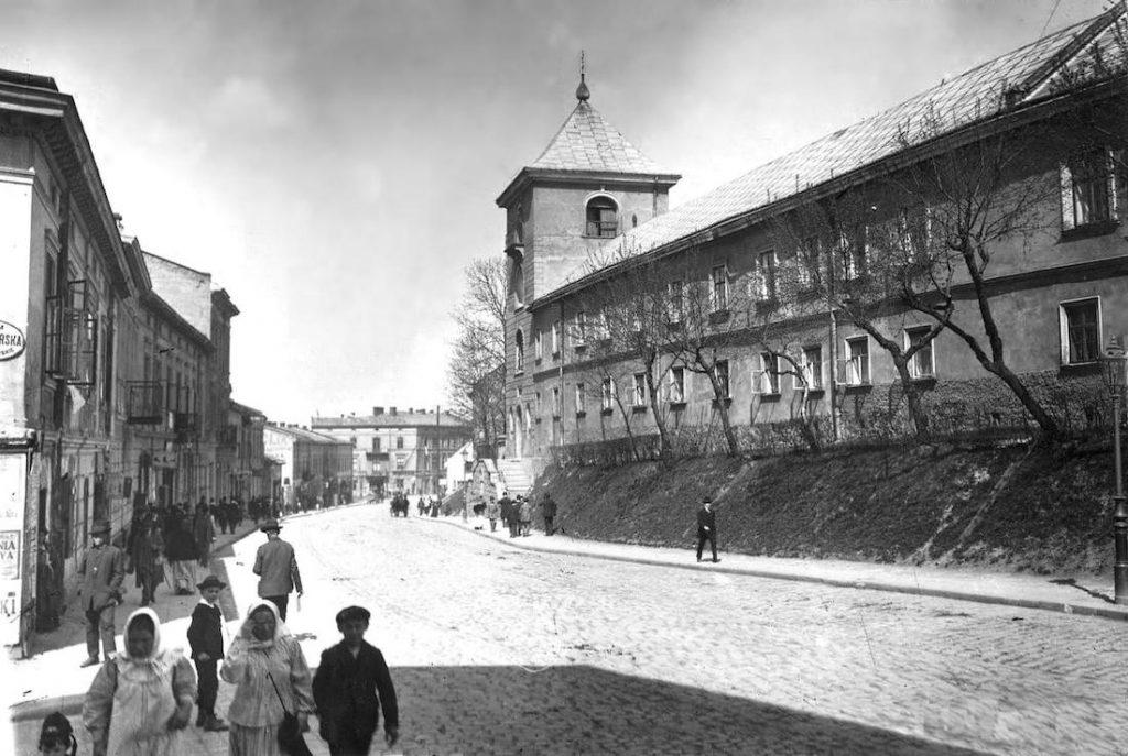 Klasztor Bazylianów - Lwów Stare Zdjęcia