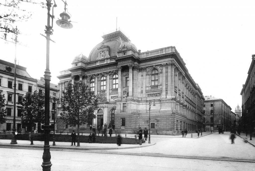 Budynek Muzeum Przemysłu Artystycznego we Lwowie