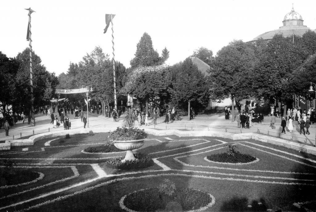 Park Kilińskiego - Lwów na starych zdjęciach