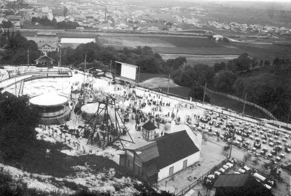 Kajzerwald i lunapark istniejący w latach 1908-1914