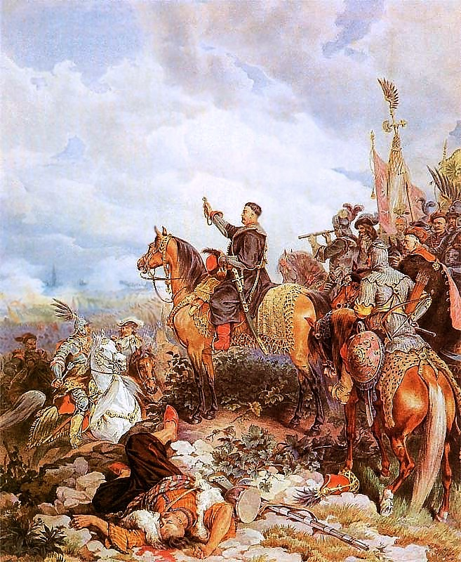 Obraz Jan III Sobieski na Kahlenbergu - Autor: Juliusz Kossak