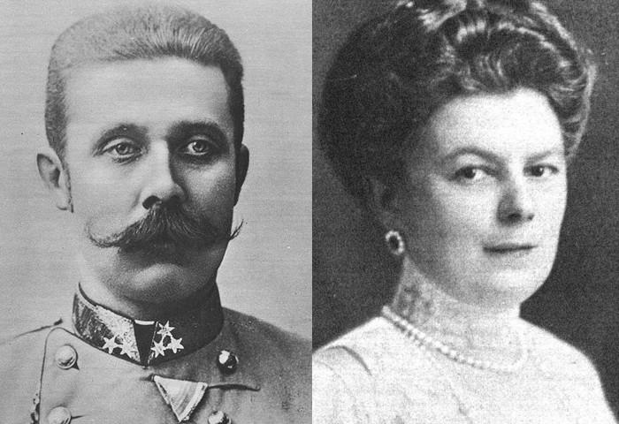 Franciszek Ferdynand i Zofia von Chotek
