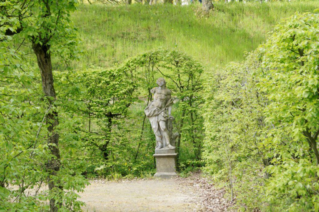Rokokowe ogrody - Pałac w Rogalinie