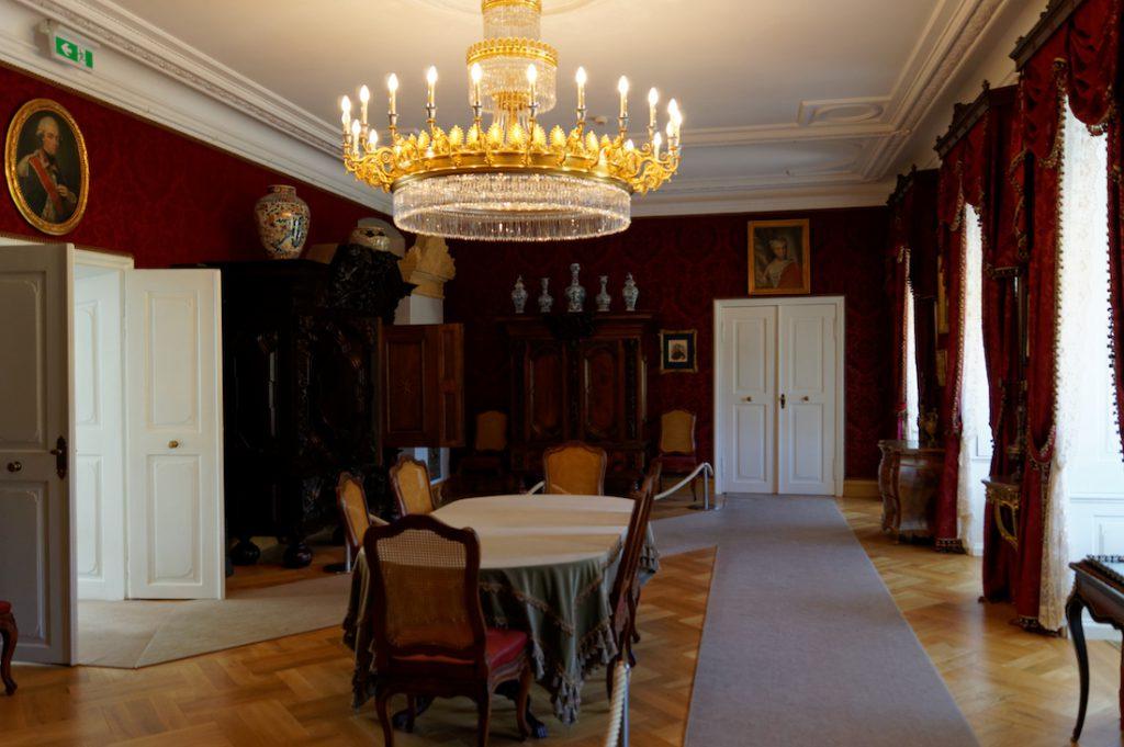 Wnętrza Pałacu Raczyńskich w Rogalinie