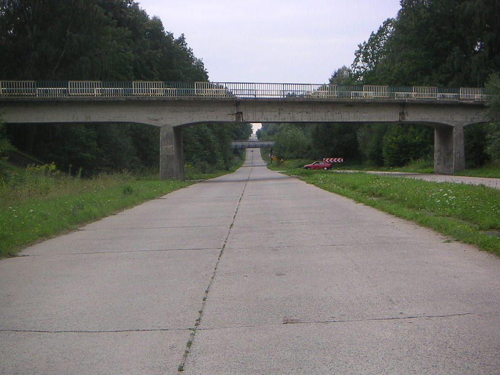 Żelbetowy wiadukt w okolicach Maciejewa, województwo zachodniopomorskie - Źródło: commons.wikimedia.org Foto: S99