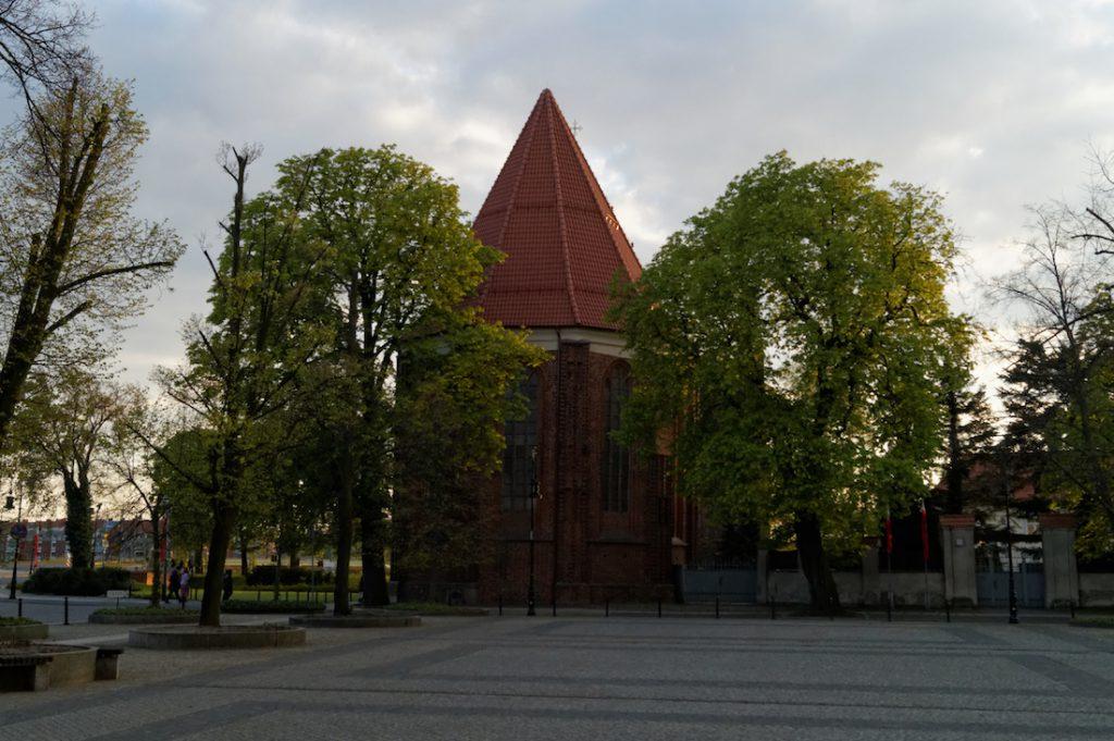 Kościół Najświętszej Marii Panny na Ostrowie Tumskim - w tym miejscu ponad 1050 lat temu wybudowano palatium