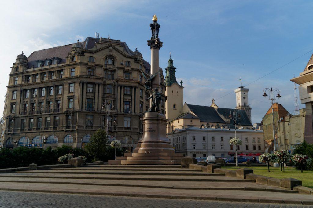 Kolumna Adama Mickiewicza we Lwowie