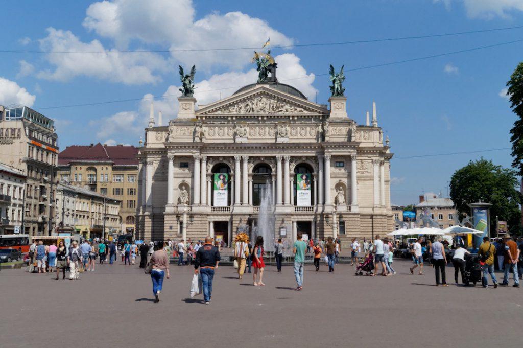 Piękna Opera Lwowska - Wyjazd turystyczny na Ukrainę