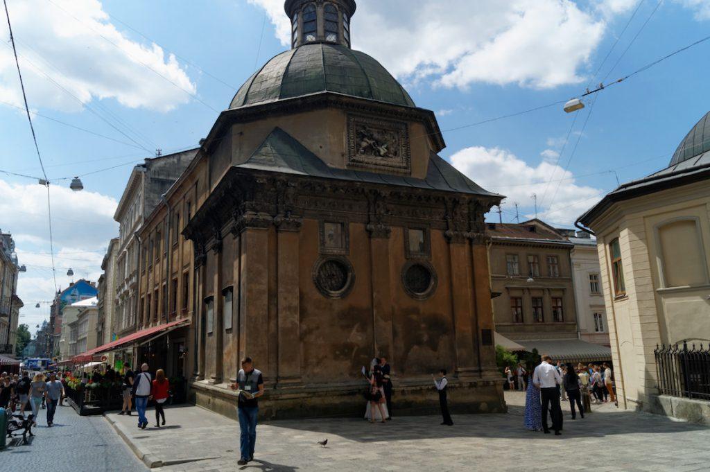 Kaplica Rodziny Boimów - Zabytki Lwowa