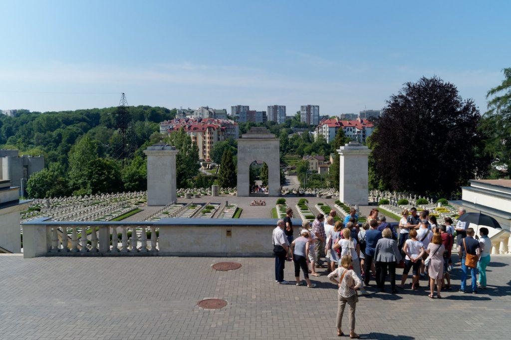 Cmentarz Orląt Lwowskich - Polskie ślady we Lwowie