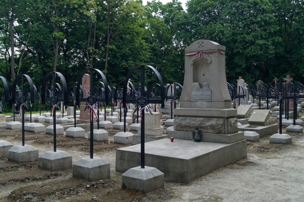 Groby powstańców styczniowych - Polskie ślady we Lwowie