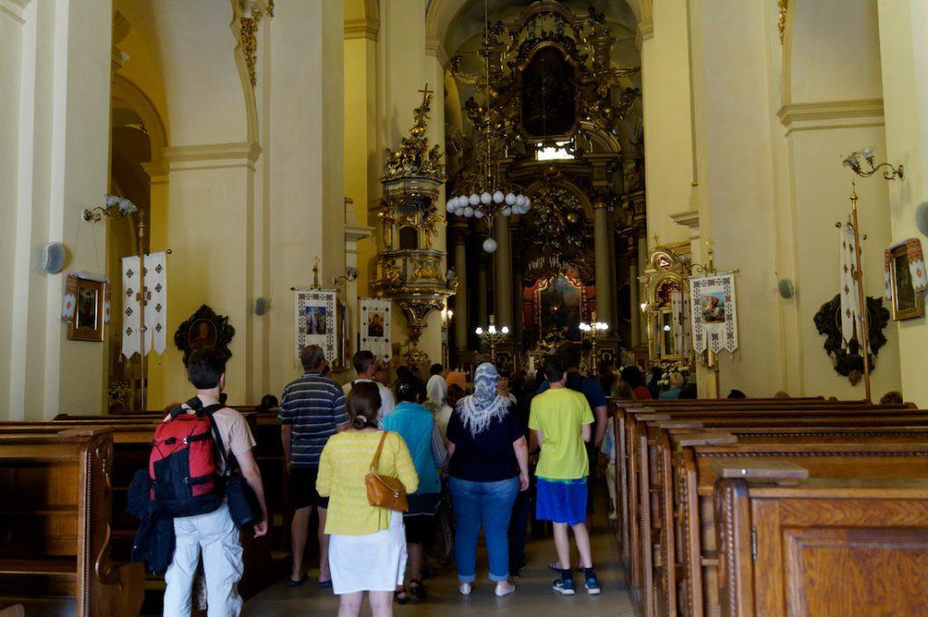 Wnętrze świątyni - Sobór Świętego Jura