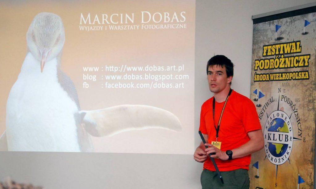 Warsztaty fotograficzne z Marcinem Dobasem - III Festiwal Podróżniczy Środa Wielkopolska