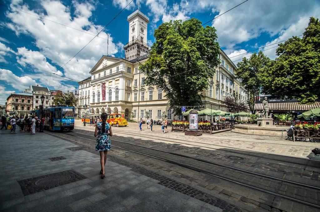 Ratusz we Lwowie - Foto: Adrian Sitko