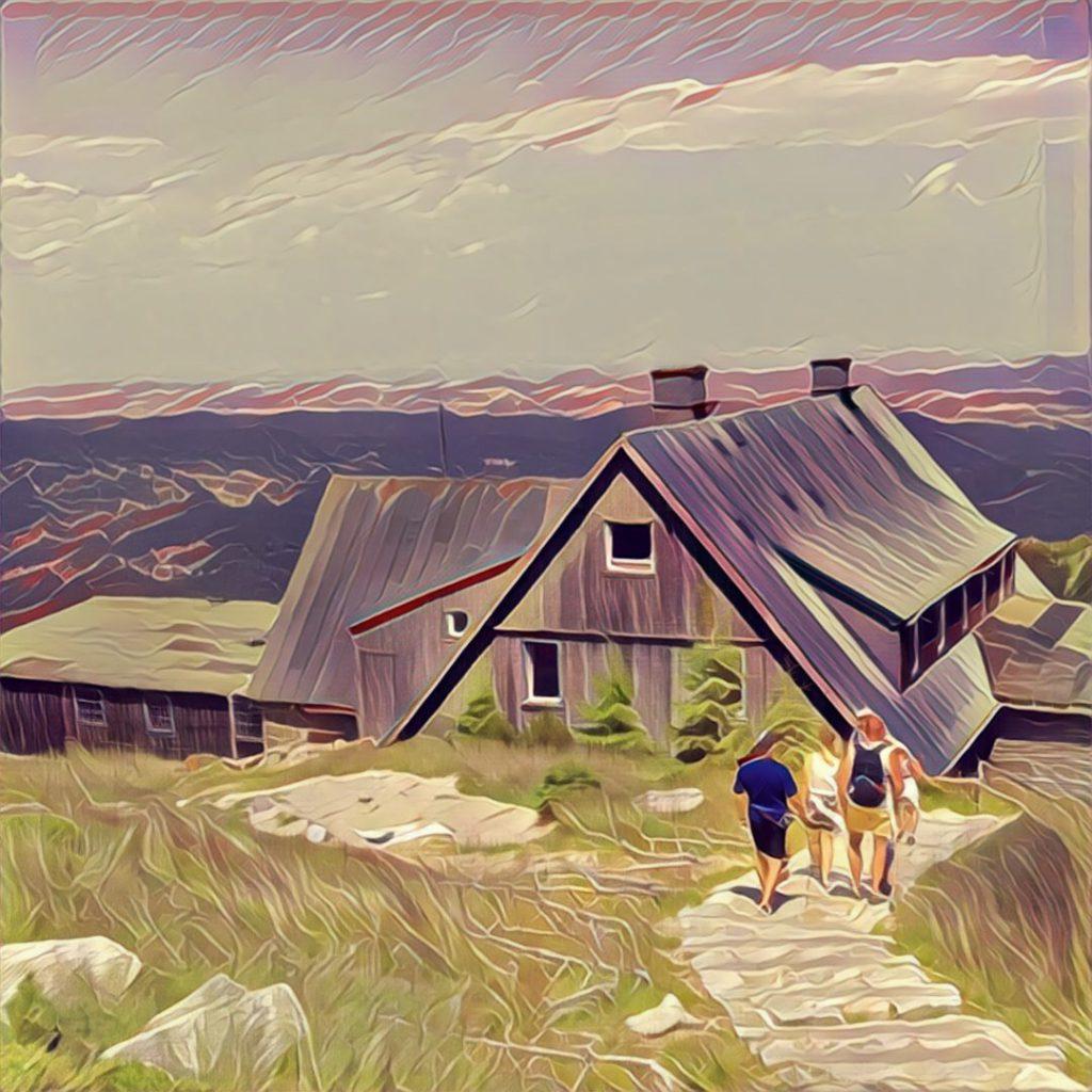 Schronisko górskie w Karkonoszach