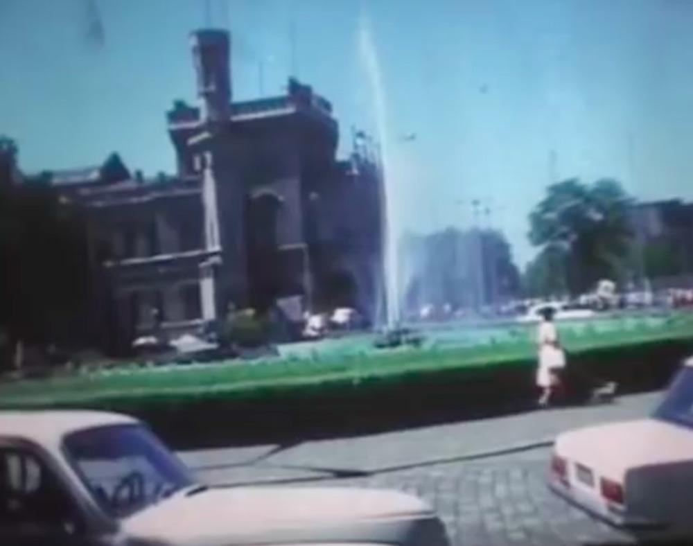 Dworzec Wrocław Główny w 1976 roku