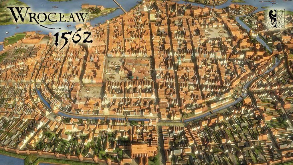 Model Wrocławia z 1562 roku