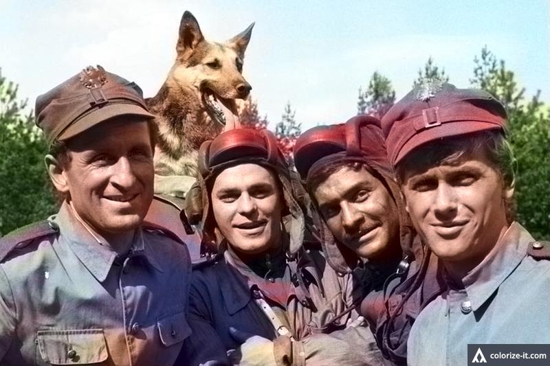 Czterej pancerni i pies - po koloryzacji